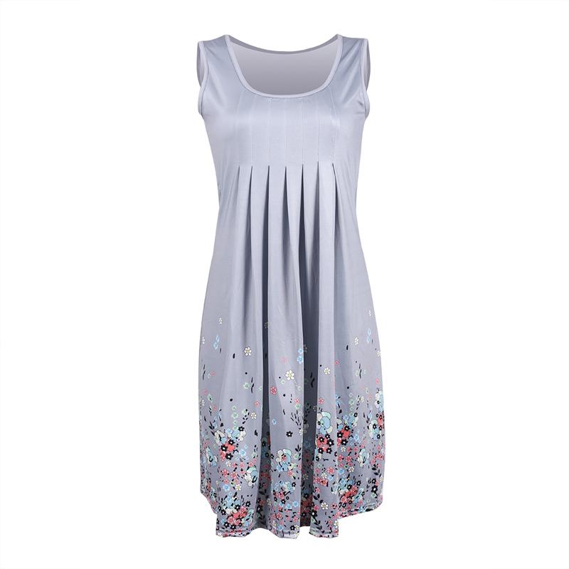 Women's Plus Size Floral Print Summer Dress