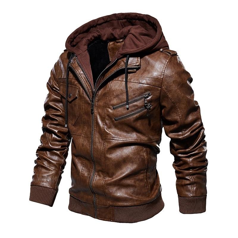 Men's Vintage Leather Bomber